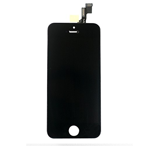 For Iphone 5C Full Set Lcd Screen Replacement Digitizer Assembly Display Touch Panel Black + Free Repair Tool Kits [Ships From Usa]