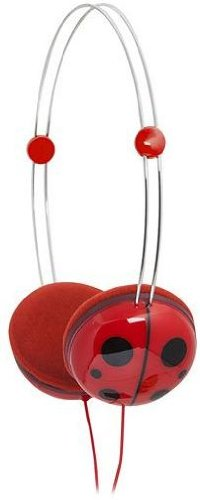 Ifrogz If-Anh-Ldb Animatones Volume Limiting Headphones For Kids, Red