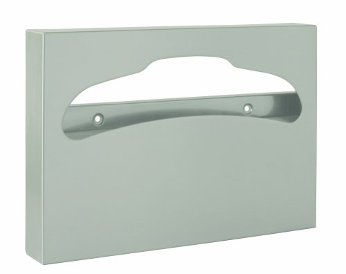Bradley 583-000000 Stainless Steel Surface Mounted Toilet Seat Cover Dispenser, 500 Capacity, 15