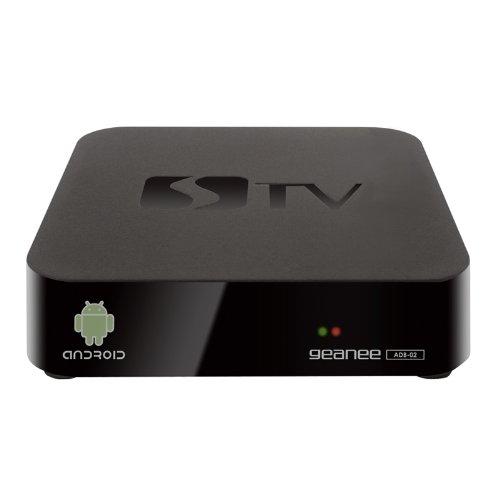 GEANEE Android 4.0搭載 「スマートテレビBOX」 Wi-Fi対応 無線&有線接続両対応