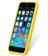 MelkcoSilikonovy Case for Apple iPhone 6 (4.7 Inch) Special Edition - Yellow (APIP6FSIPSIYW)