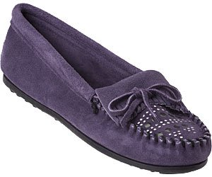 Image of MINNETONKA 504T MOCCASIN PURPLE (B004IA1K7U)