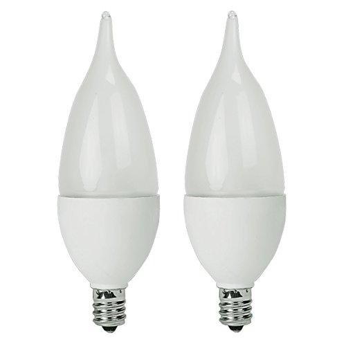 TCP RLDCF5W27KF2 5-watt LED Flame Candelabra