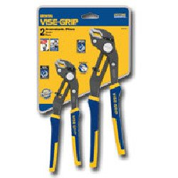 Irwin Industrial Tools 2078709 GrooveLock Clamshell Pliers Set, 2-Piece