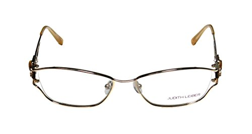judith-leiber-1593-womens-ladies-cat-eye-full-rim-titanium-eyeglasses-eyewear-53-16-135-gold
