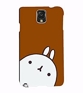 Fuson 3D Printed Cartoon Designer back case cover for Samsung Galaxy Note 3 - D4302