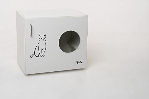 chat-Armoire-Feline-dition-spciale-avec-coussin-pour-chaise-longue-Litire-Chat-toilettes-incl-Plastique-et-pelle--litire-BHT-60-x-535-x-41-cm