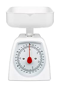 Hanson Kitchen Scale, 3 Kg, White