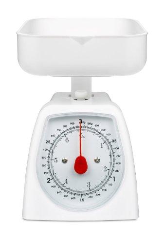 Hanson Balance de cuisine 3 kg (Blanc)