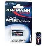 ANSMANN CR123A  Lithium Batterie Fotobatterie  für Garagentoröffner