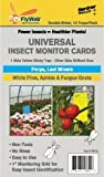 Double-Sided Universal Insect Monitor Cards for White Flies, Aphids, Fungus Gnats, Thrips & Leaf Miners (10-Pack)
