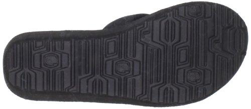 Teva Women's Mush Mandalyn Flip Flop,Motif Black,10 M US