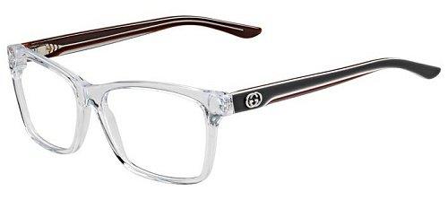 b4087cc8f2 Gucci Women s 3563 Crystal   Grey Frame Plastic Eyeglasses