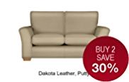 Lincoln Small Sofa - Leather