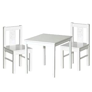 ikea kritter children 39 s table and 2 chairs. Black Bedroom Furniture Sets. Home Design Ideas