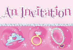 ShindigZ Princess Invitations - 8-Pack