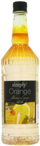 Simply Orange Syrup 1 Litre (Pack of 2)