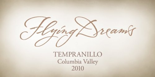 2010 Flying Dreams Winery Columbia Valley Tempranillo 750 Ml