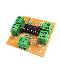 Dc motor stepper motor driver board with l293d ic for for L293d motor driver module