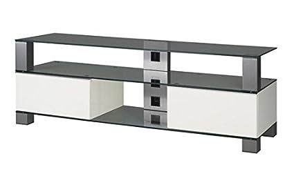 """Sonorous MD 9140-B-INX-WHT Weiß TV-Möbel fur 60"""" Fernseher"""