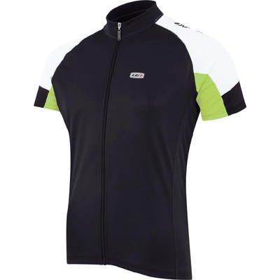 Buy Low Price Louis Garneau 2009/10 Men's Carbon Ion Short Sleeve Cycling Jersey – Black/Green – 9820305-97P (B001RF0EVC)