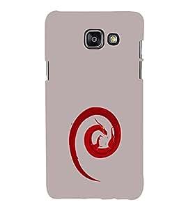 EPICCASE Dragon fire Mobile Back Case Cover For Samsung Galaxy A7 (2016) (Designer Case)