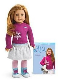American Girl Mia Doll & Paperback Book