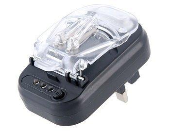 British Plug Universal Charger For Mobile Phones (Black)