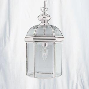 Chrome Finish Moroccan Style Hall Lantern 5131CC Lighting