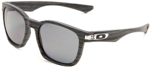 Oakley Garage Rock OO9175-08 Polarized Round Sunglasses,Blue Woodgrain Frame/Grey Polarized Lens,One size
