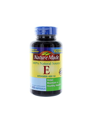 Nature Made Vitamin E 400 Iu Natural 225 Ct