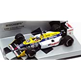 【 ミニチャンプス 】 1/43 ウィリアムズ FW11B 1987年オーストラリアGP リカルド・パトレーゼ (シルバーパッケージ)