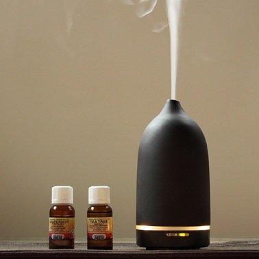 Casa Aroma Genie - Ultrasonic Aromatherapy Diffuser (Black)