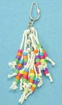 Cheap Top Quality 7″ Beaded Octopus Bird Toy (TDPS18773)