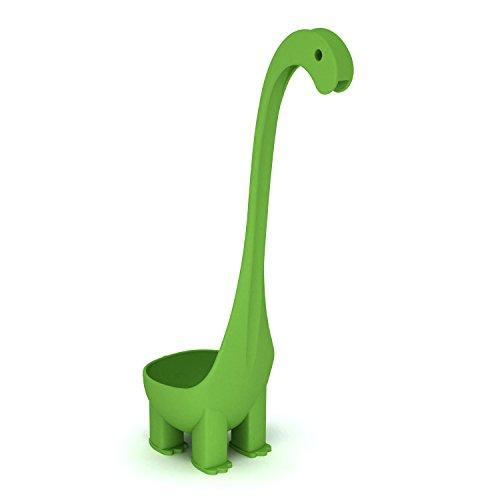 Krierah - Dinosaur Soup Ladle - Green Nylon 6oz Per Scoop. The Dino Ladle - Not Nessie (Dino Spoon compare prices)