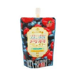 ギュッと綺麗蒟蒻ゼリーミックスベリー味 130g