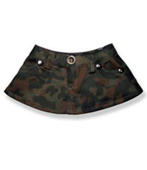 Camo Skirt Clothing Fits 8