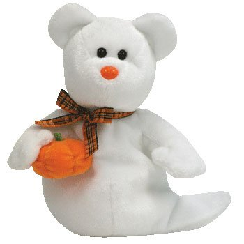 Ty Beanie Babies Phantom - Ghost Bear (Borders Exclusive) by TY Borders - 1