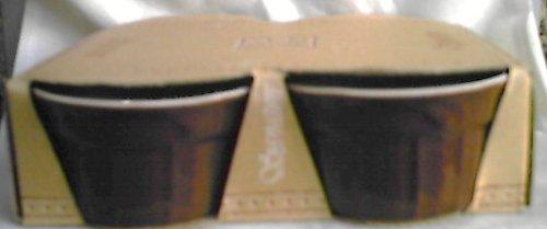 Signature Sorrento Brown 4 Pc Ramekins 5 Oz
