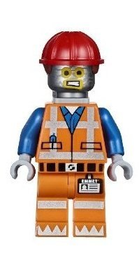 LEGO Movie Robo Emmet Minifigure (Robot Tinfoil Disguise) - 1