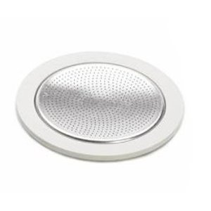 Bialetti 07013 Stainless Steel 6-Cup Gasket/Filter Plate Replacement Parts from Bradshaw International