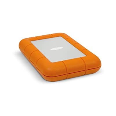 LaCie 1 TB Thunderbolt Rugged USB 3.0 Silver/Orange