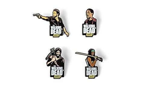 Walking Dead Enamel Pin Set Series 1
