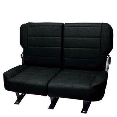 Rampage Products 5051301 76-95 Jeep CJ & Wrangler, Fold & Tumble Rear Seat