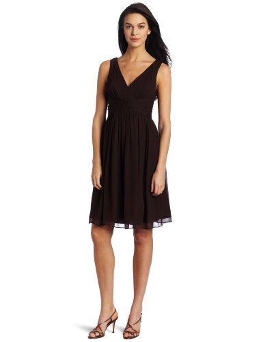 Donna Morgan Women's Sleeveless Chiffon Dress