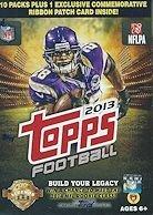 NFL 2013 Topps Football Blaster Trading Cards