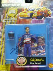 Signed Jarrett, Dale Racing Figure autographed by Powers Collectibles