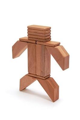 40 Piece Tegu Explorer Magnetic Wooden Block Set