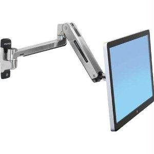 Ergotron 45-383-026 Lx Hd Sit-Stand Wall Mount Lcd Arm For 46In