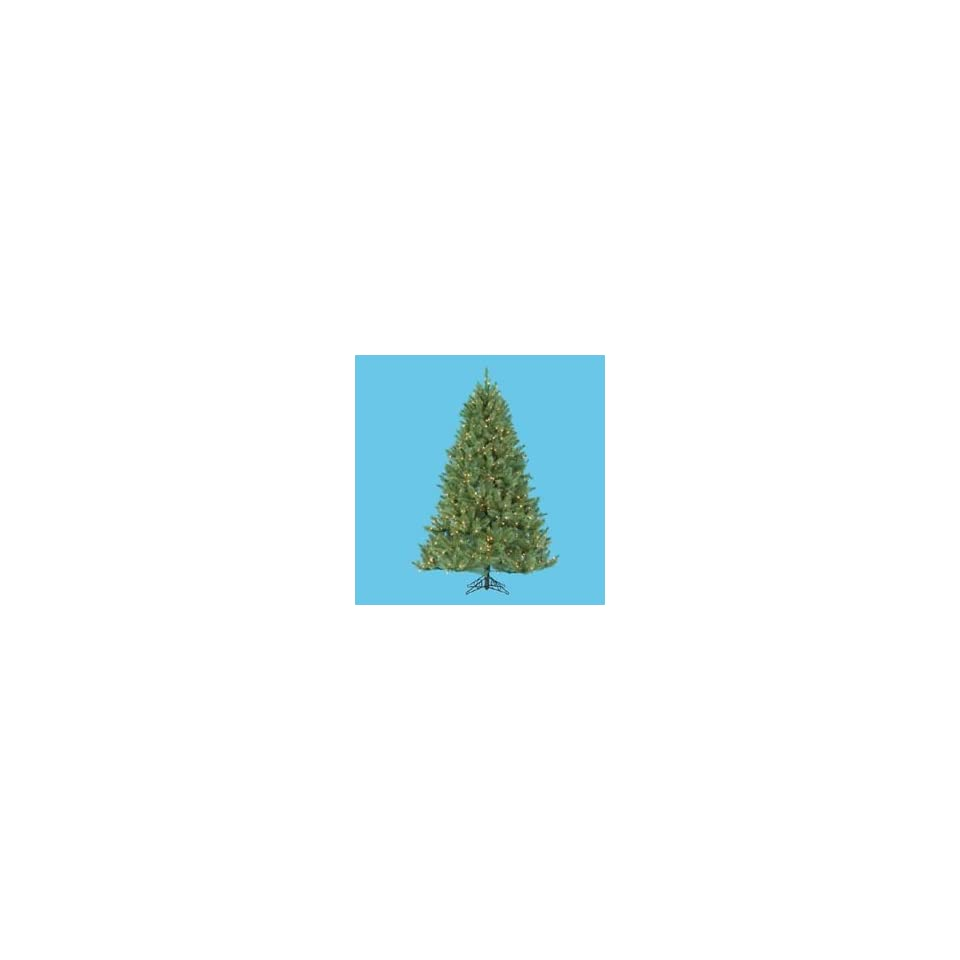 New   6 Pre lit Windom Artificial Christmas Pine Tree   Clear Lights by Gordon